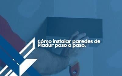 Como instalar paredes de pladur paso a paso (Con VIDEO)
